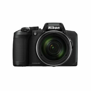 NIKON COOLPIX B600 16.0 MP POINT-AND-SHOOT DIGITAL CAMERA WITH 60X OPTICAL ZOOM (BLACK) (Front View)