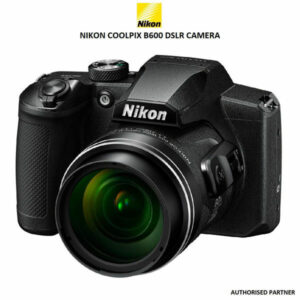 NIKON COOLPIX B600 16.0 MP POINT-AND-SHOOT DIGITAL CAMERA WITH 60X OPTICAL ZOOM (BLACK) (Side View)