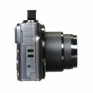 CANON POWERSHOT SX620 HS DIGITAL CAMERA (BLACK) (Side View)