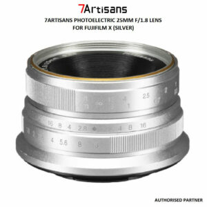 7ARTISANS PHOTOELECTRIC 25MM F/1.8 LENS FOR FUJIFILM X (SILVER)